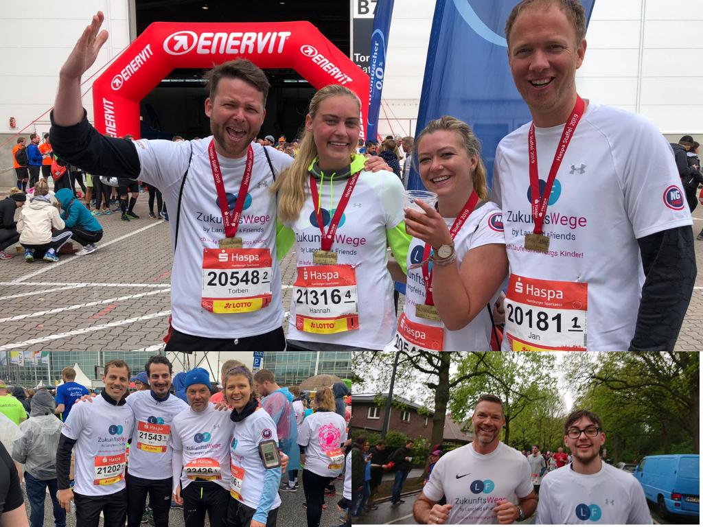 Langfeld & Friends ZukunftsWege macht sich bereit für den Hamburg Marathon 2020