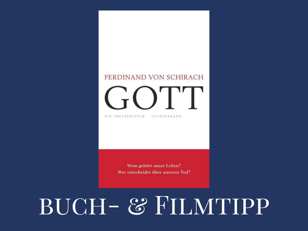 """Buch- und FilmTipp: """"Gott"""""""